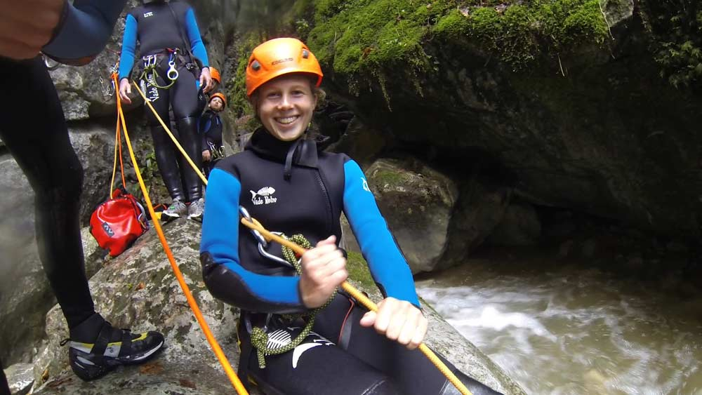 canyoning haute savoie annecy