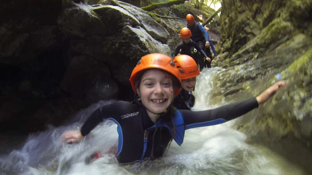 canyon angon canyoning annecy haute savoie