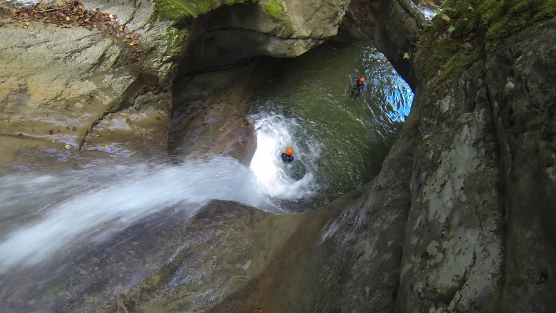 canyoning savoie terneze annecy canyon