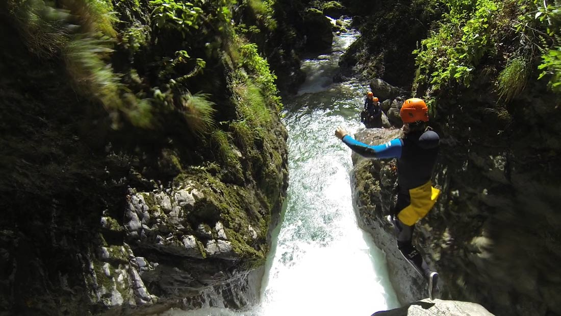 canyoning annecy haute savoie