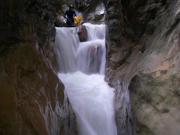canyon pont du diable canyoning savoie