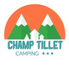 logo camping le champ tillet