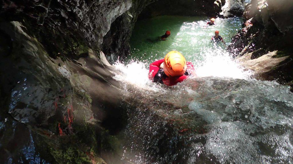 canyoning aravis la clusaz grand bornand