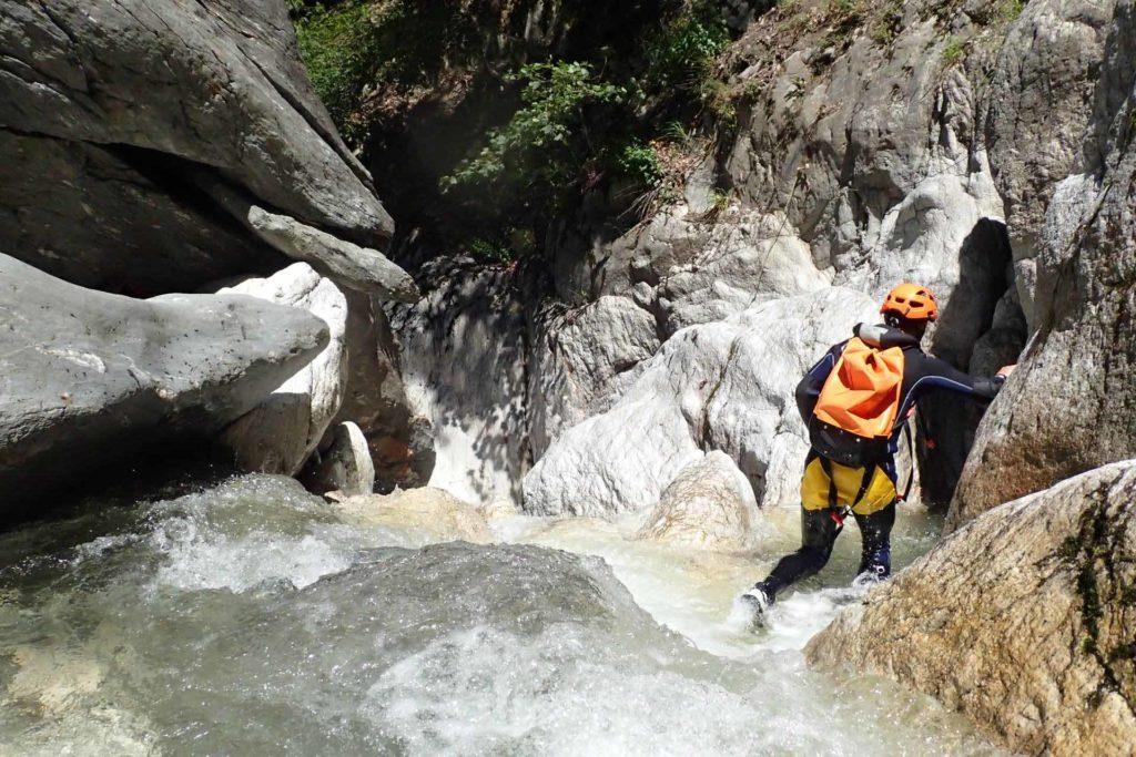 canyoning tarentaise